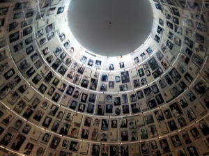 Yad Yashem's gallery of the victims of Holocaust