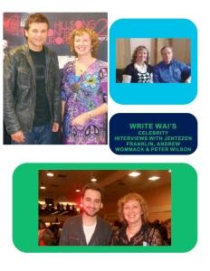 2WRITE WAI's Celebrity interviews