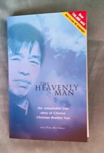Book cover of 'The Heavenly Man'