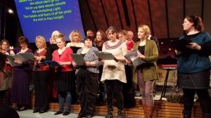 Church Choir taken by WRITE WAI