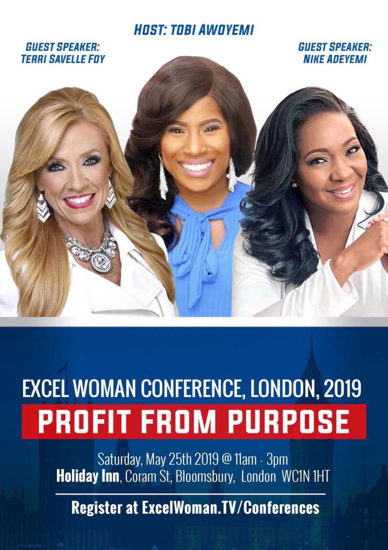 Excel Woman Event flyer